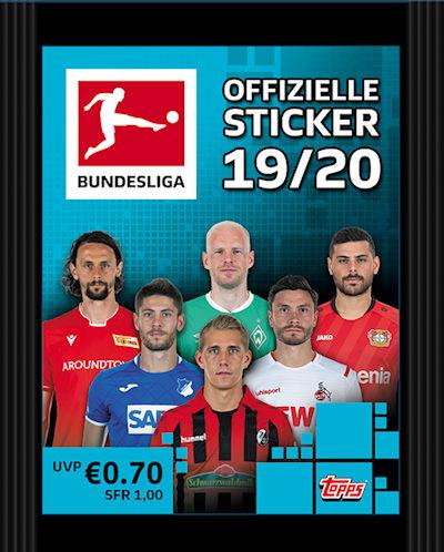 TOPPS Bundesliga 2019//2020 Sticker 61 Niclas Füllkrug