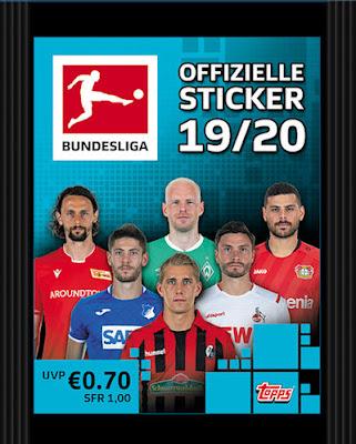 Sticker 160 Marcel Halstenberg TOPPS Bundesliga 2019//2020