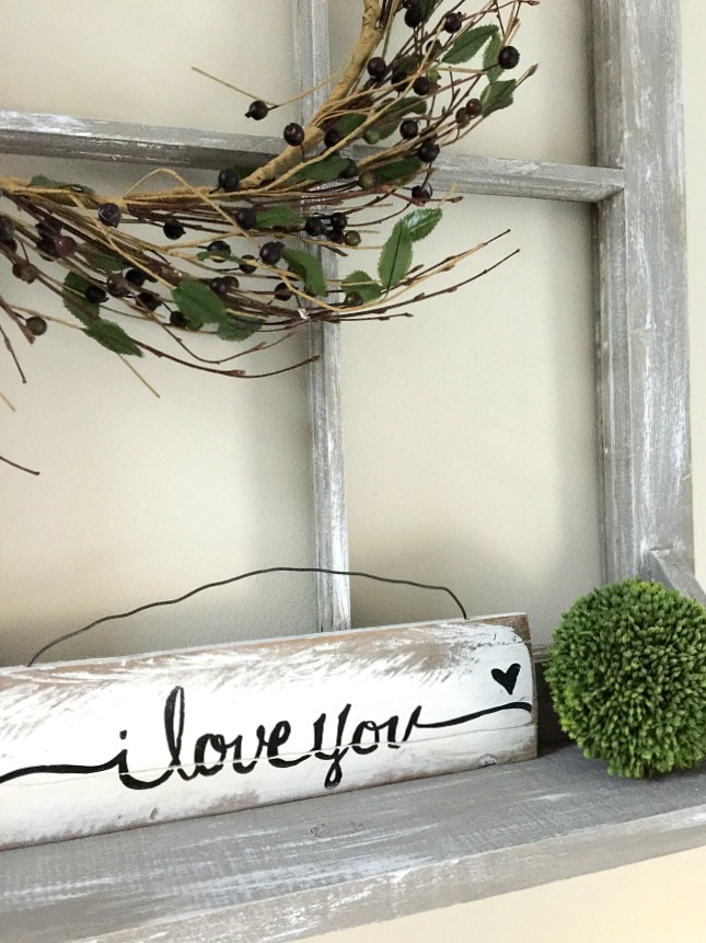 Making a Window Shelf with an Old Chippy Window