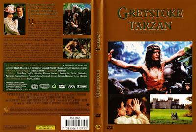 Carátula dvd: Greystoke la leyenda de Tarzán