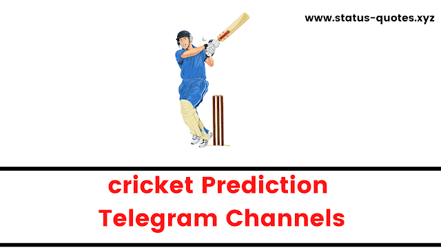 【BEST】Telegram Channels For Cricket Prediction   Dream 11 Cricket Telegram Channels