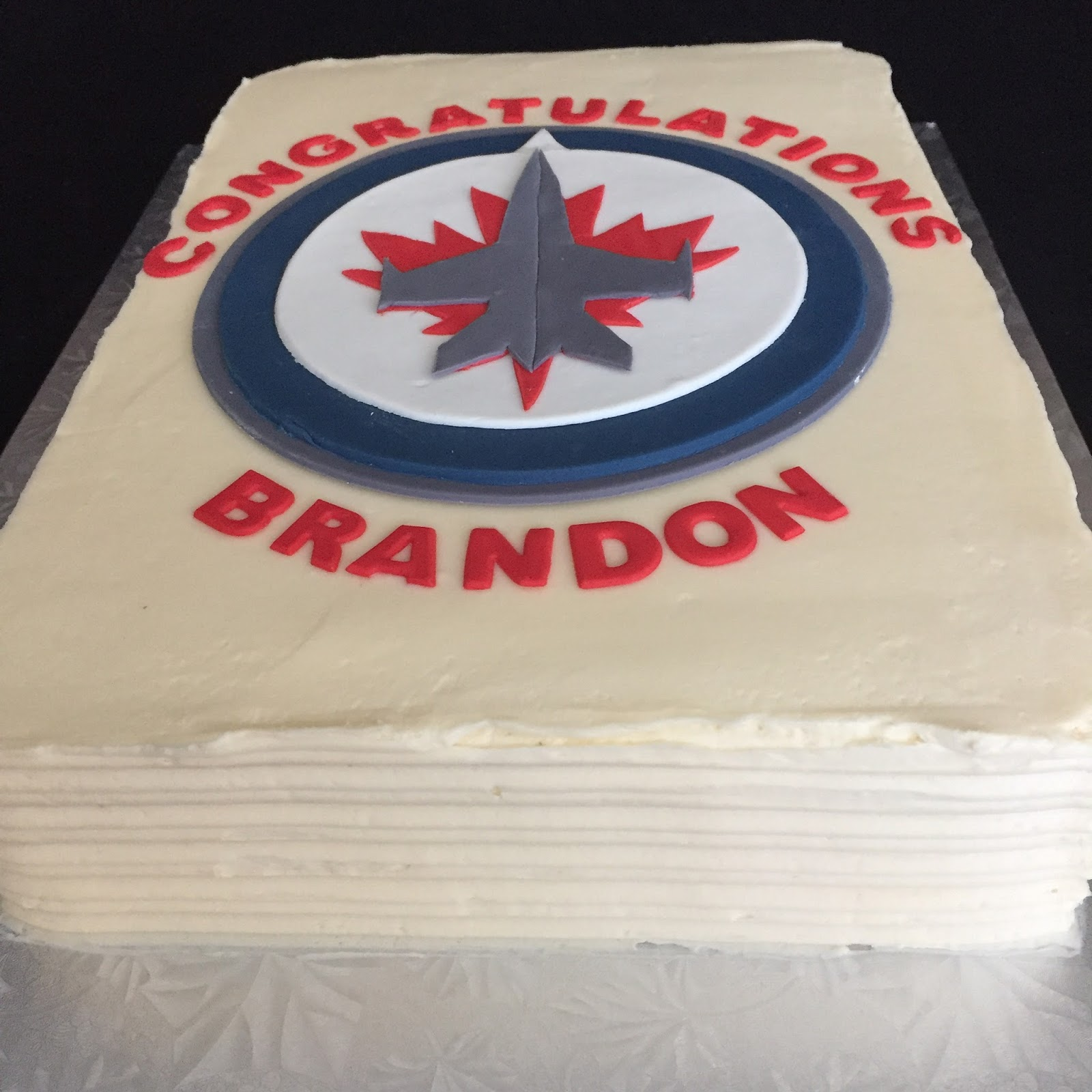 Winnipeg Jets Cake