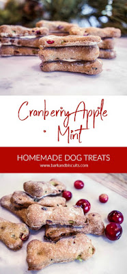 Cranberry Dog Biscuits