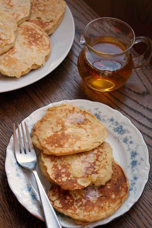 Oatmeal Pancakes || A Less Processed Life