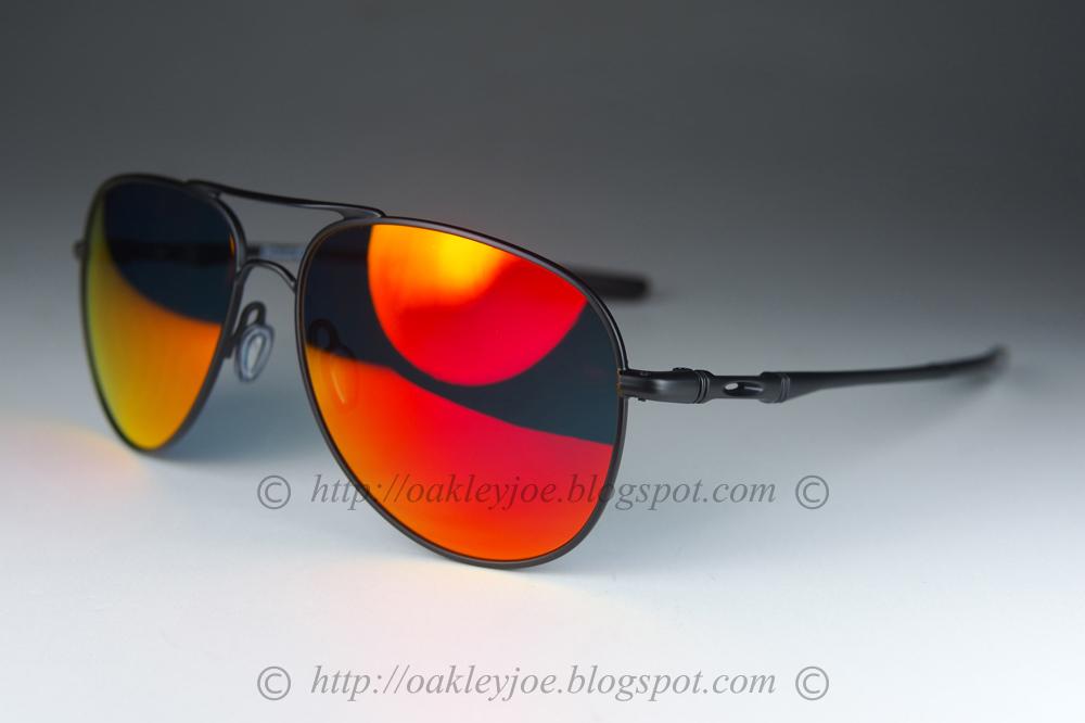 28ad7d50fab Medium OO4119-0458 Elmont Medium satin black + ruby iridium  260 lens pre  coated with Oakley hydrophobic nano solution