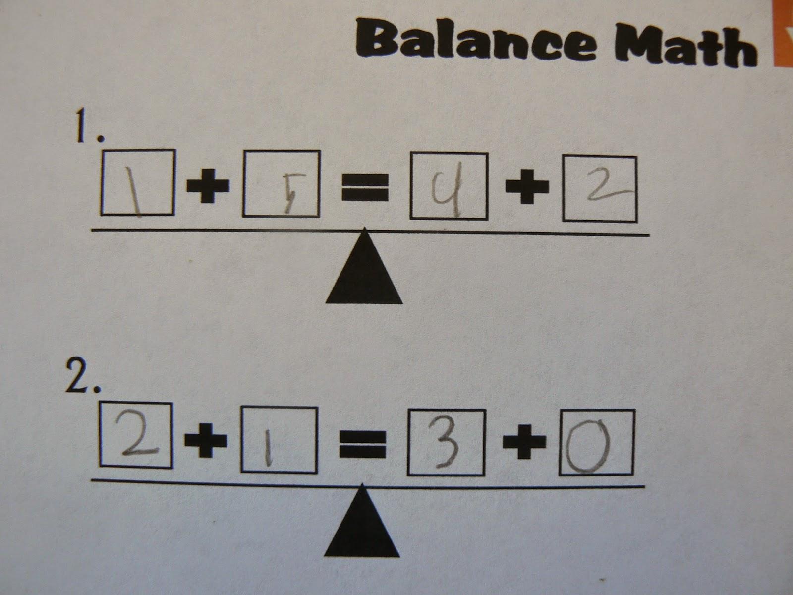 Mrs T S First Grade Class Balance The Scale Ipad Center