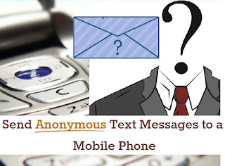 Apps to send anonymous messages