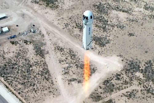 A trip to space with Jeff Bezos for $ 28 million