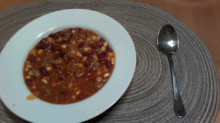 Finished Chili con Carne, ready to eat