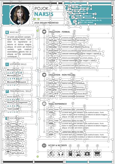 editable format template daftar riwayat hidup