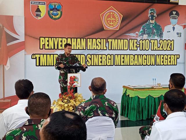 Kasrem 081/DSJ: Semoga Perekonomian dan Kesejahteraan Masyarakat Desa Widoro Semakin Baik