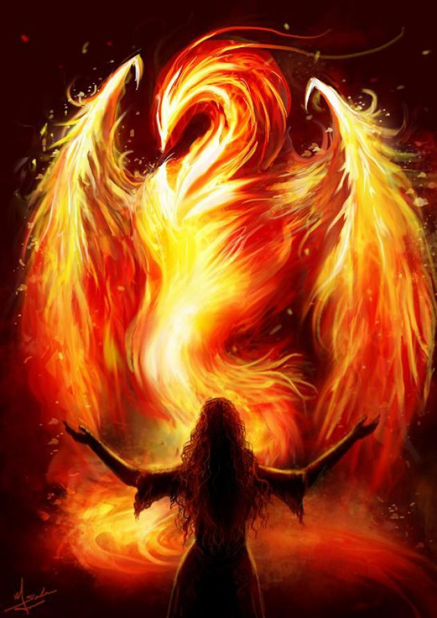 Still I Rise, I Am The Phoenix ~ Aphrodite Calling's Magical Musing