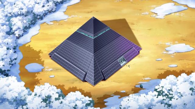 Piramide de Batalha Anime