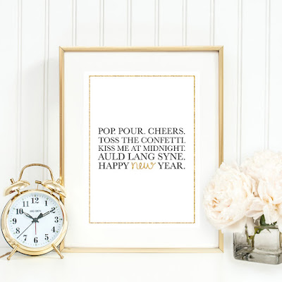 new years eve printable decorations