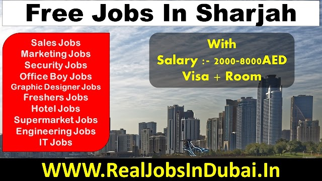 Jobs In Sharjah - UAE