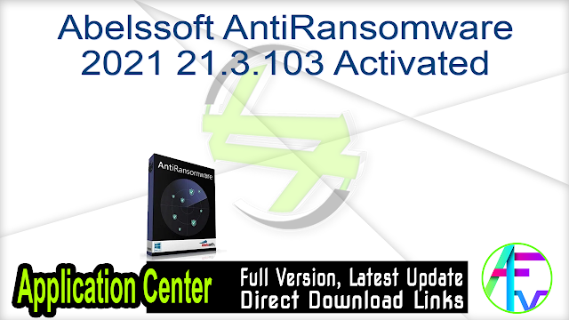 Abelssoft AntiRansomware 2021 21.3.103 Activated