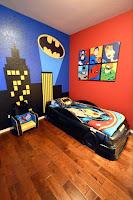 Increíbles camas que les encantarán a los pequeños batimovil