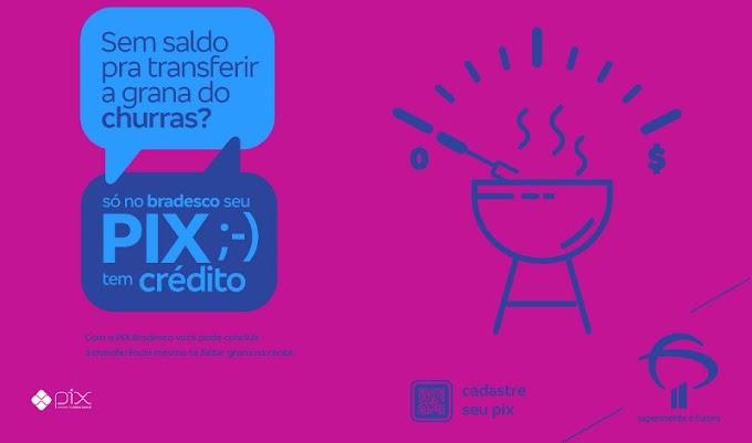 Bradesco lança campanha sobre Pix