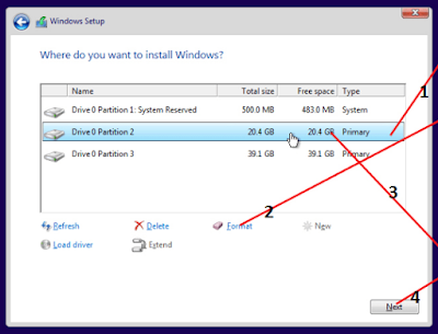 Tips Instal Windows 10 Lengkap