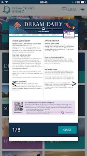 dream cruise newsletter