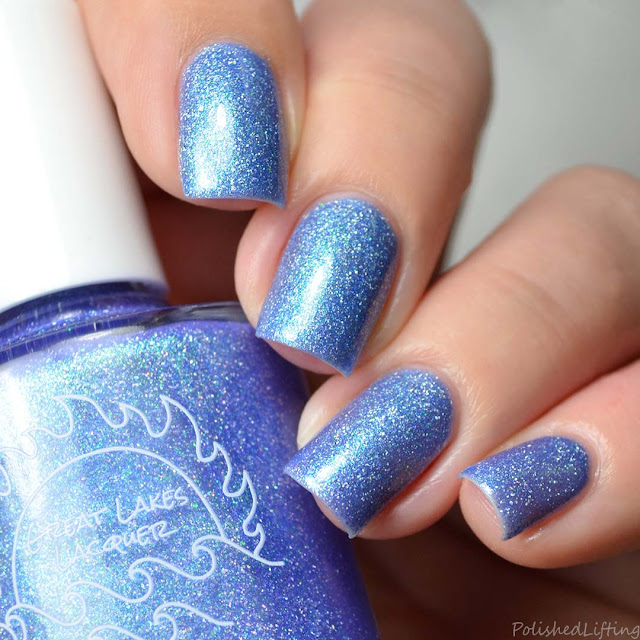 blue to violet thermal nail polish