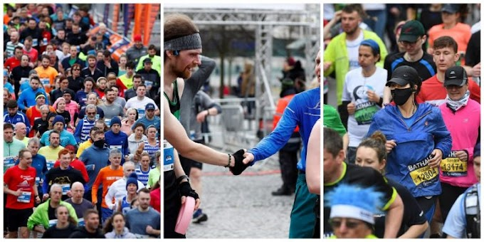 Marathon in the UK despite the threat of Corona