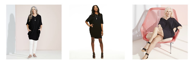 Hope Cocoon dress, style three ways