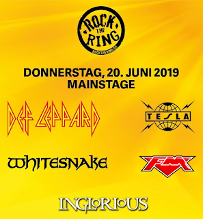FM at Rock The Ring, Switzerland - 20 June 2019