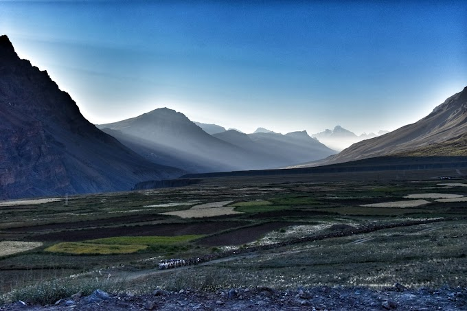 Sunrise in Spiti Valley