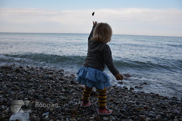Kamieniste plaże w Aarhus w Jutlandii