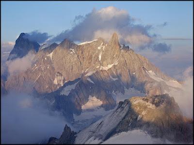 Dent du Geant, Alpes, desde Torino