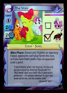 My Little Pony The Vote Marks in Time CCG Card