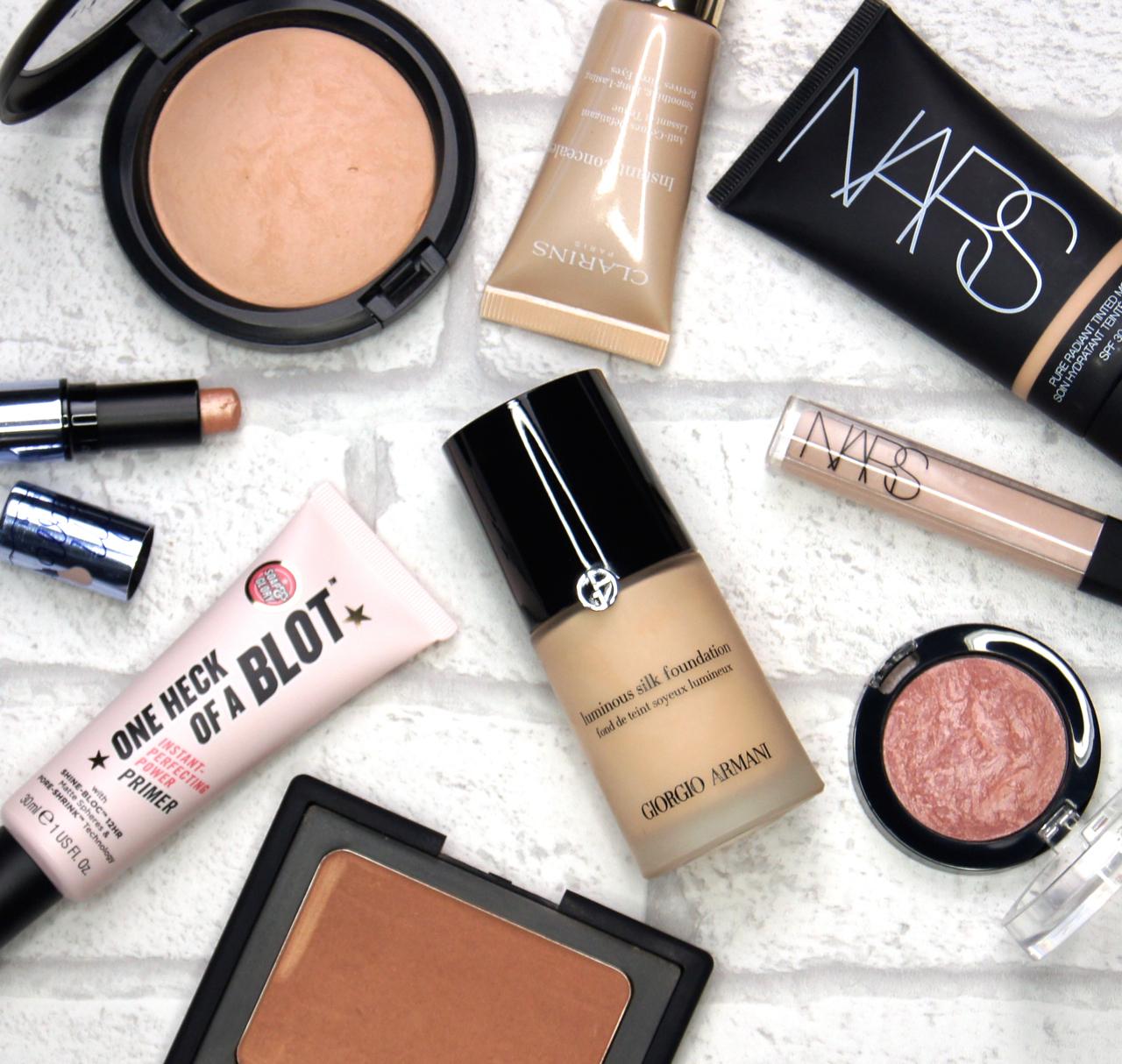 best makeup products 2015 primer tinted moisturiser foundation concealer powder bronzer highlighter blush