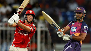 Kings XI Punjab vs Rising Pune Supergiant 4th match