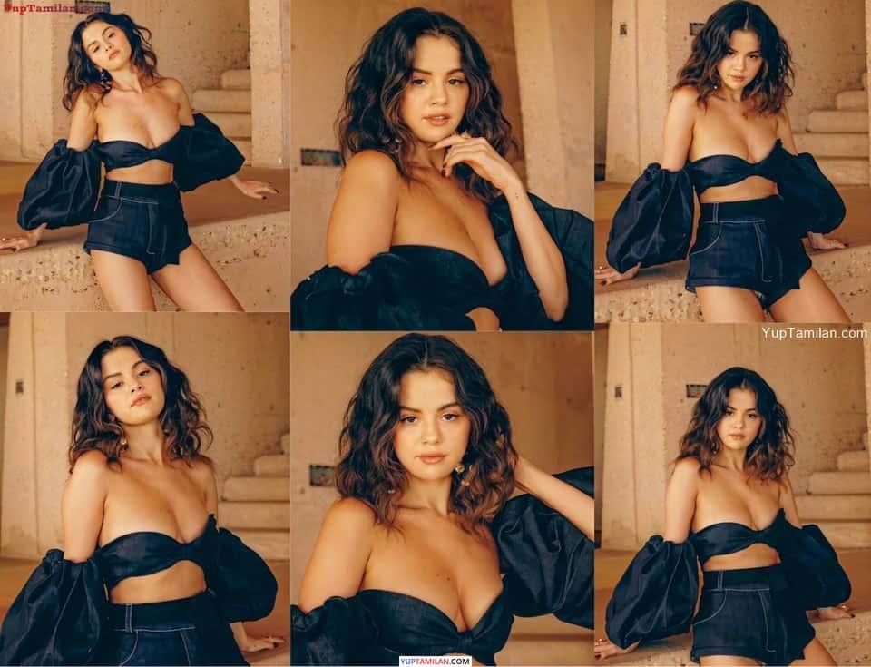 Selena Gomez Sexy Cleavage Photos   Hot Boobs Show