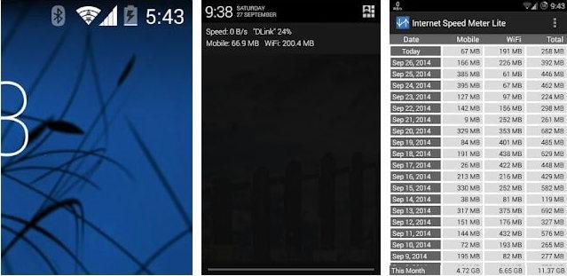 أفضل 3 تطبيقات لعرض سرعة الإنترنت على شريط الحالة في هواتف سامسونج