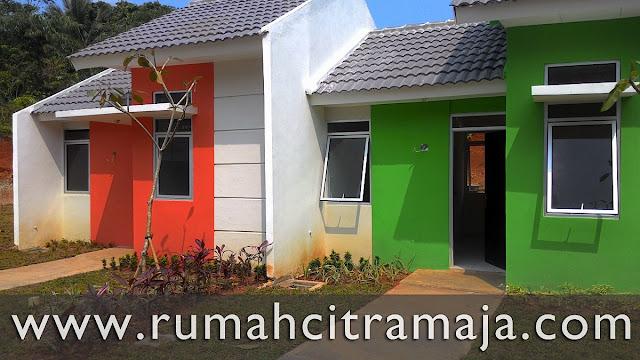 Show Unit Rumah Sederhana (RS) Citra Maja Raya