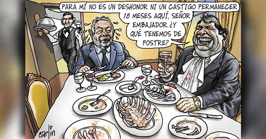 Carlincaturas Jueves 22 Noviembre 2018 - La República