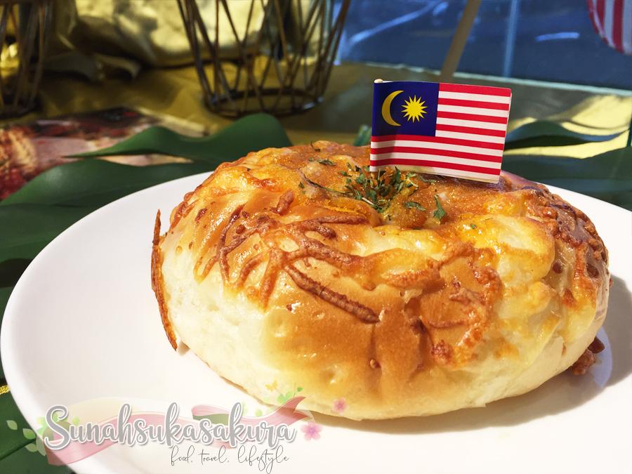 Curry Bun SDS Bakery & Cafe