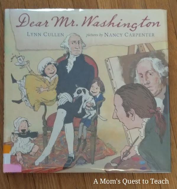 book cover of Dear Mr. Washington