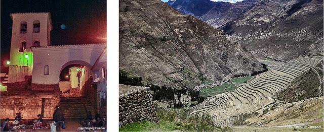 VIla de Chinchero e Sítio Arqueológico de Pisac, Vale do Urubamba, Cusco, Peru