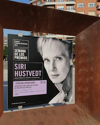 Oviedo. Premios Princesa de Asturias, Letras: Siri Hustvedt