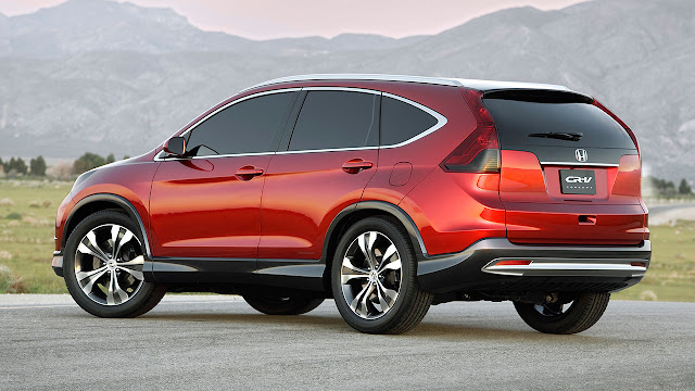 2012 Honda CR-V back