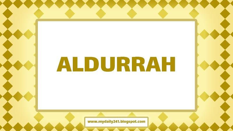 Aldurrah