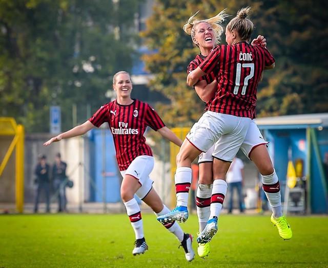 AC Milan Perempuan Kalahkan Inter Milan-IGacmilan