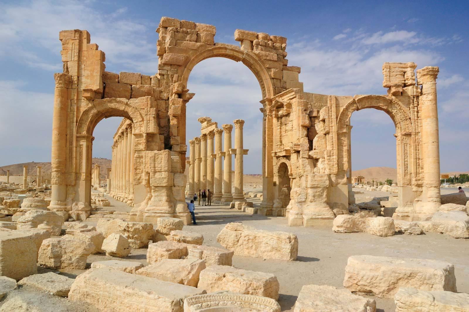 من أهم وأجمل معالم وآثار سوريا