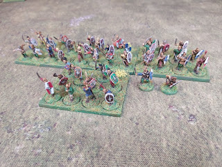 Gaulish warriors in 15mm for Infamy, Infamy