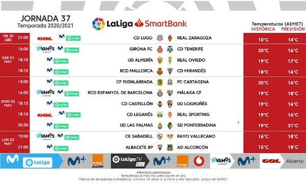 El Espanyol - Málaga, el domingo 2 de Mayo a las 16:00 horas