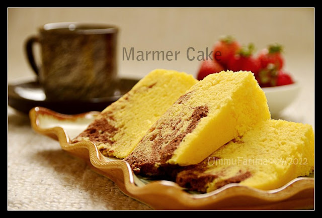 Resep Cake Jerman Ncc: Simply Cooking And Baking...: Marmer Cake Kukus