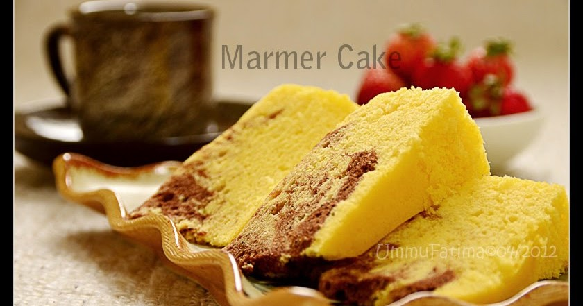 Resep Fruit Cake Kukus Yongki Gunawan: Simply Cooking And Baking...: Marmer Cake Kukus